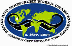 World Beard and Moustache Championships 2003 Logo