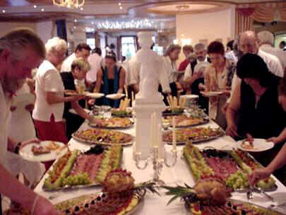 The Sumptuous Buffet Of Hors Doeuvres