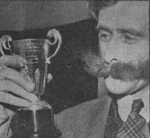 john with cup