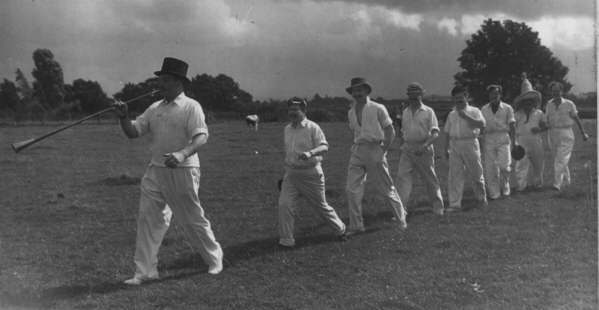 cricket team at Fletching