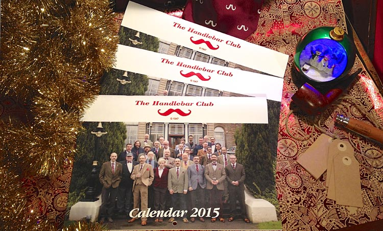 Give an unique Christmas Gift to the Moustache In Your Life! The Handlebar Club 2015 Calendar will give a whole year of pleasure, and help Stepping Stones Down Syndrome Support Group into the bargain. Click / Tap on the picture to buy one now for £10 inc. UK P&P from our Big Cartel Shop
