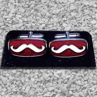 Handlebar Club Cuff Links