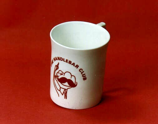 The Handlebar Club Bone China Mug
